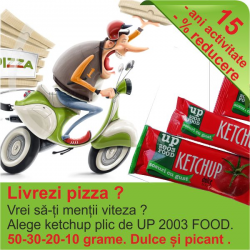 Ketchup Dulce/picant 50 g